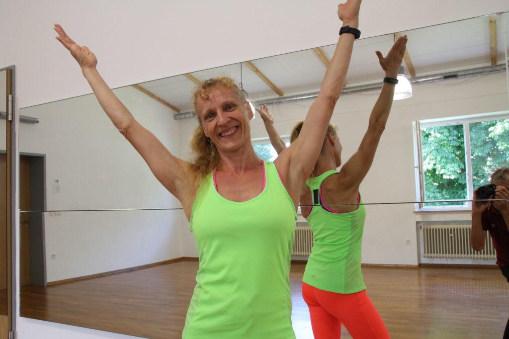Andrea Hübner, Zumba-Trainerin