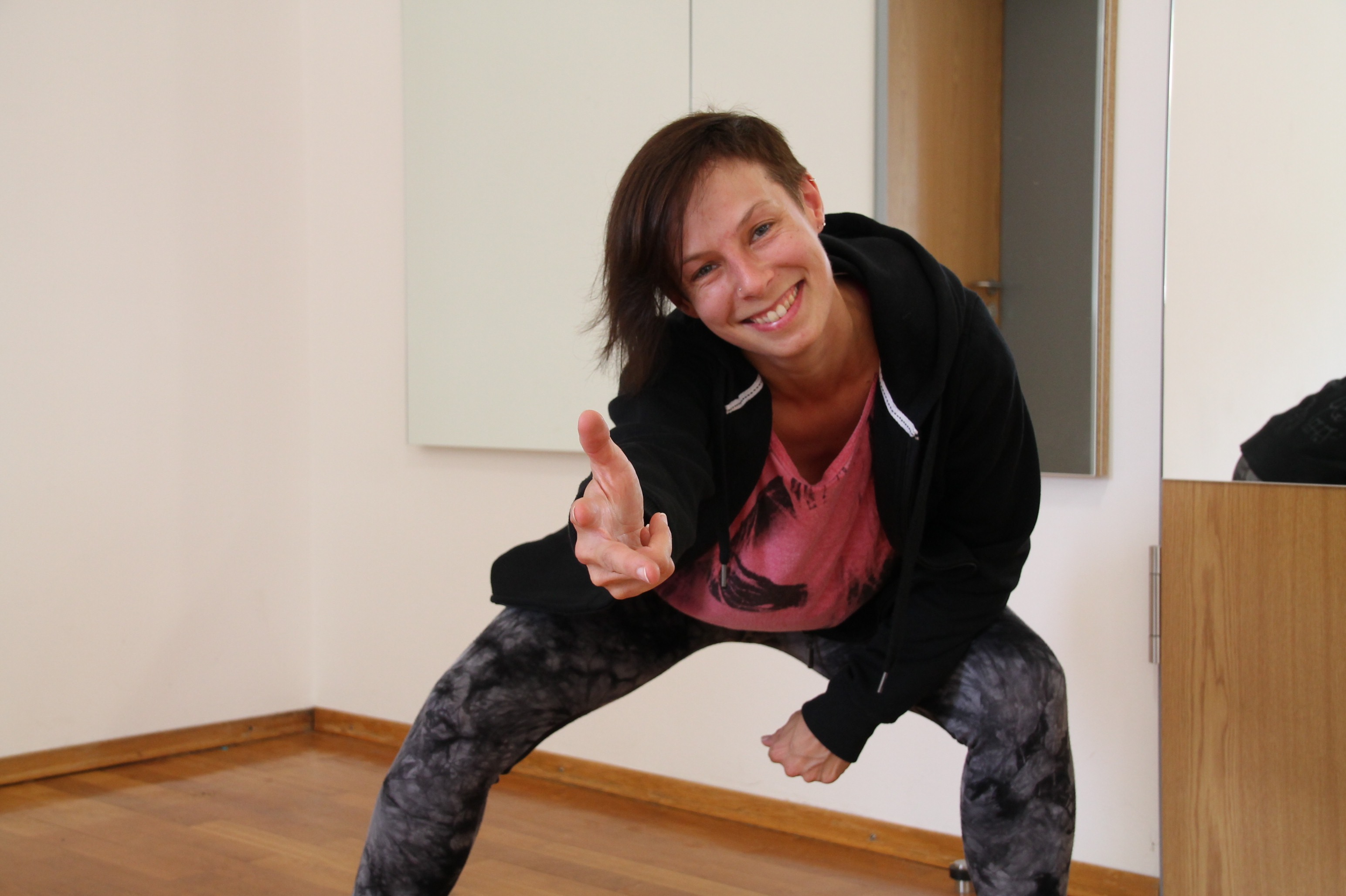 Patrizia Kurz, Hip-Hop-Trainerin
