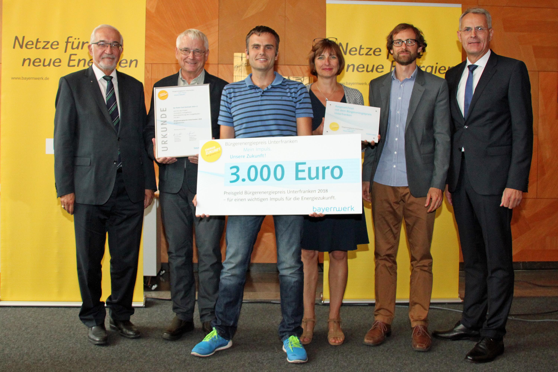 Ruder-Club Karlstadt gewinnt Bürgerenergiepreis