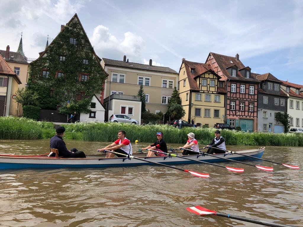 Ruderwanderfahrt von Bamberg bis Volkach